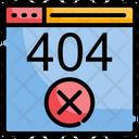 404 Error Error Page Error Icon
