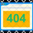 404 Error Page Not Found 404 Icon