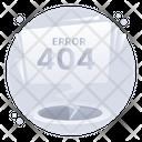 Web Error 404 Error Webpage Error Icon