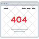 404 Not Found Icon