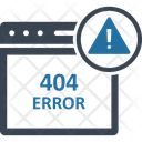 404 Error Message 404 Not Found Http 404 Icon