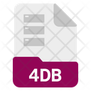 4 Db File Format Icon