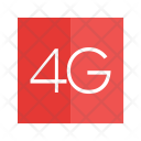4 G Network Signal Icon