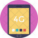 4 G Mobile Phone Icon