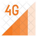 4 G Signal Communication Icon