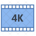 4 K Picture Movie Icon