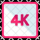 4 K Image Icon