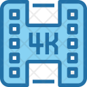 Video 4 K Movie Icon