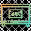 K Tv Tv Television Icon
