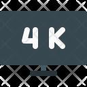 Uhd Television 4 K Icon
