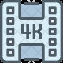 Video 4 K Movie Icon