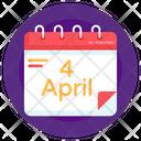 4th April Icon