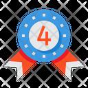 4th Badge Icon