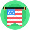 4th July Banner Icon