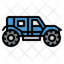 Four Wheel Car Icon