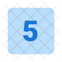 5 Number Icon