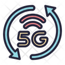 5 G Signal Network Icon
