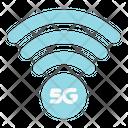 5 G Signal Wireless Signal Icon
