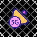 5 G Antenna Icon