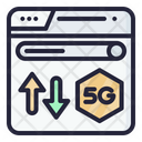 5 G Browser 5 G Signal Icon