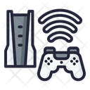 5 G Game Console Game 5 G Icon