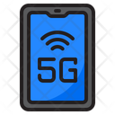 5 G Mobile Icon