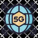 5 G Network G Network 5 G Icon