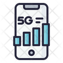 5 G Network 5 G Phone Signal Icon