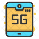 5 G Phone 5 G Mobile 5 G Icon