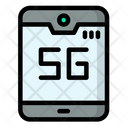 5 G Phone 5 G Mobile Smartphone Icon