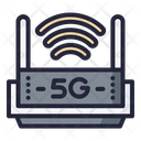 5 G Router 5 G Wifi Router Icon
