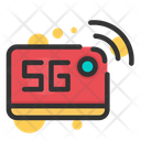 5 G Signal 5 G Network 5 G Icon