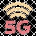 5 G Signal Signal 5 G Icon