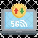 5 G Signal Signal Internet Icon