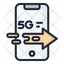 5 G Speed Speed Connection 5 G Icon