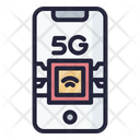 5 G Technology 5 G Signal Icon