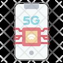 5 G Technology 5 G Signal Icon