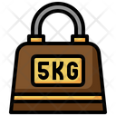 5 Kg Weight Icon
