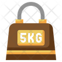 5 Kg Weight 5 Kg Handbag Icon