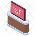 50% discount Icon