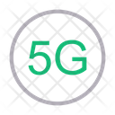 5 G Connection G Icon
