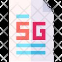 5 G Document Icon