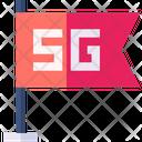 5 G Flag Icon