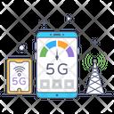5 G Internet Icon