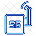 5 G Wireless Network Router Icon