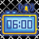 6 Am Alarm Digital Icon
