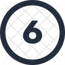 Number Circle Icon