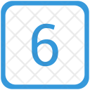 6 number Icon