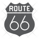 66 Route Icon