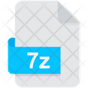 7 Z Archive Compressed Icon